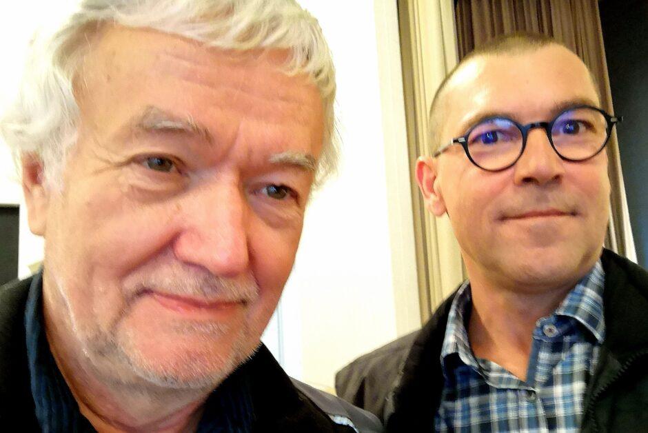 Selfie mit Dr. Liebig zum Abschluss der Veranstaltung