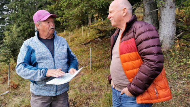 Peter Roth und Max Stoib im Gespräch